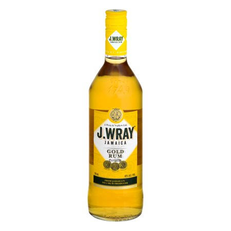 J Wray Gold Rum 750ml