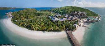 Exclusivity ly the rich and famous will ever step foot on this stunning island which