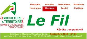 chambre agriculture bourgogne actualités conférences salons concours vinipôle sud bourgogne