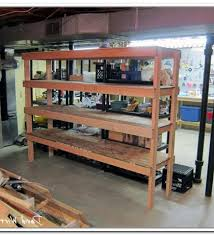building wood shelves in shed nortwest woodworking community