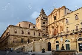 Noto Is Famous For Its Fine Buildings Of The Early 18th Century They Are Built