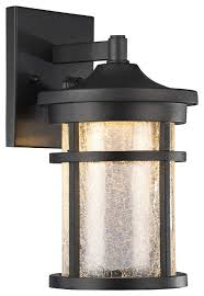 colleyville transitional led outdoor wall sconce rubbed bronze