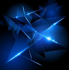 Dark Blue HI TECH Abstract Background Vector 02