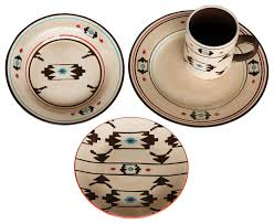 Artesia Native Dinnerware Set Southwestern