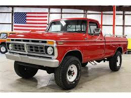 1977 Ford F250 For Sale | ClassicCars.com | CC-989590 1985 Ford F250 Classics For Sale On Autotrader 77 44 Highboy Extras Pkg 4x4com Does Icon 44s Restomod Put All Other Truck Builds To 2017 Transit Cargo Passenger Van Rated Best Fleet Value In 1977 Sale 2079539 Hemmings Motor News 1966 Long Bed Camper Special Beverly Hills Car Club 1975 4x4 460v8 1972 High Boy 4x4 Youtube 1967 Near Las Vegas Nevada 89119 1973 Pickups Pinterest W Built 351m