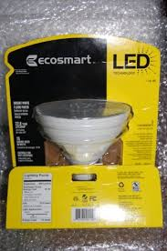 ecosmart 90w equivalent 3000k par38 led flood light bulb bright white