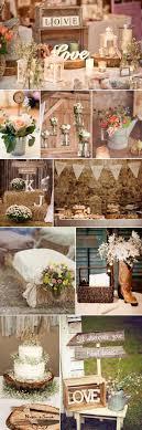 Rustic Fall Barn Wedding Wood Themed Decoration Ideas