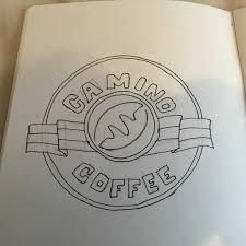 Starbucks Logo Drawing Easy Elegant Gmd 5 Image Identity On Behance