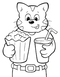 Free Coloring Pages Crayola 8 Summer And State