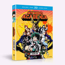 100 Blu Home Video Shop My Hero Academia Season One BDDVD Combo Funimation