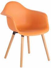 stühle in orange günstig kaufen ebay