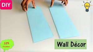 Easy Wall Decor Ideas With Paper