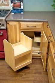 build a blind corner cabinet with no wasted space plan and