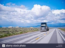 Transport Transportation Trucks Black Truck Stock Photos & Transport ...