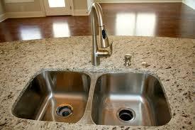 Moen Kingsley Faucet Brushed Nickel by Sink Standard 50 50 Stainless Faucet Upgrade Moen Arbor