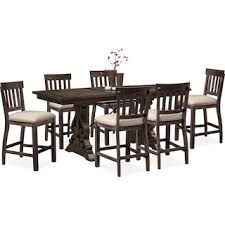 Charthouse Counter Height Dining Table And 6 Stools