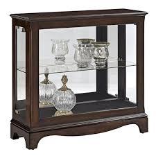 pulaski furniture curios petite display console lindy s