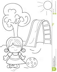 Printable Coloring Page Of Household Items Free Pages