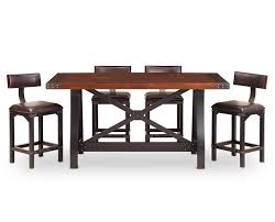 Perfect Furniture Row Dining Table Brilliant Counter Height Foundry Room Set Chair Bench Kitchen Mission Bear