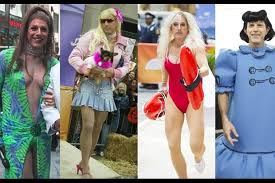 Halloween Town Characters Now by 7 Iconic Celebrity Halloween Costumes Her Campus