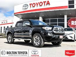 100 Auto Truck Trader Used 2018 Toyota Tacoma Limited V6Executive DemoNavigationLow KM