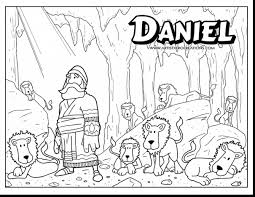 Good Bible Superhero Coloring Pages With Daniel And The Lions Den Page