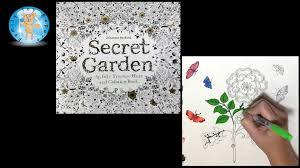 Secret Garden By Johanna Basford Adult Coloring Book Rose Butterflies