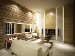indirekte led beleuchtung und deckenspots im wohnzimmer