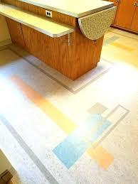 Mid Century Modern Floor Tile Vinyl Flooring Kitchen Design