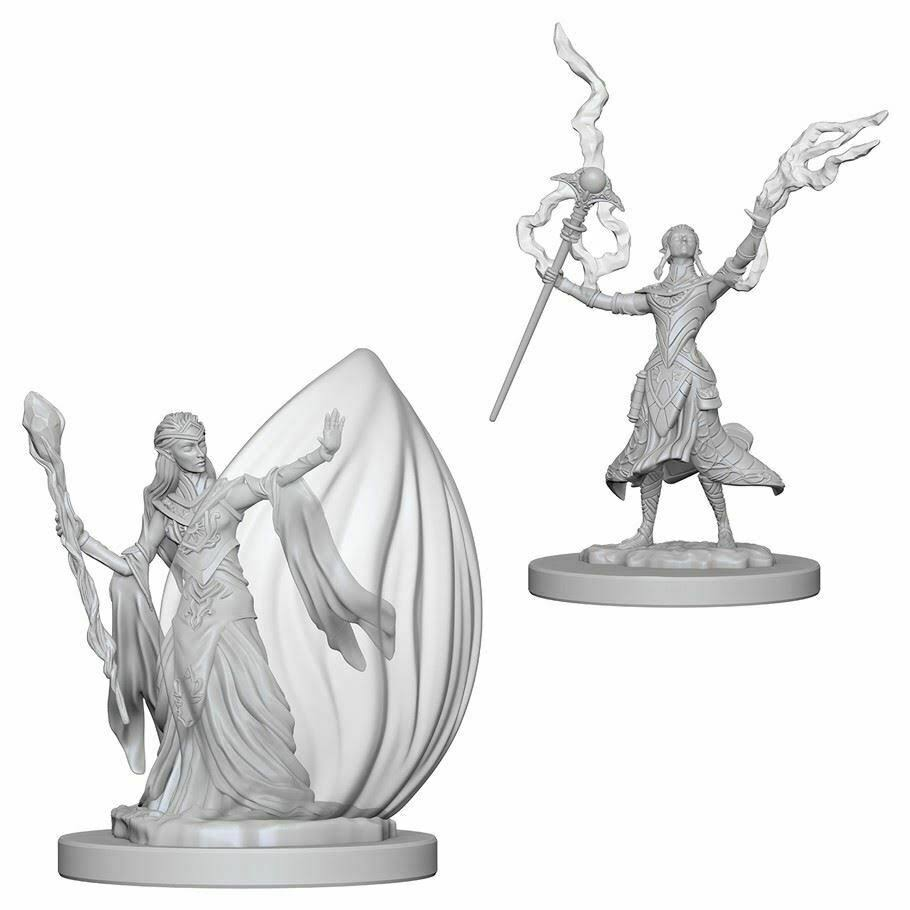 Wizkids Nolzur's Marvelous Unpainted Minis - Female Elf Wizard
