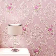 Damask Wall Paper 3D Non Woven Wallpapers For Bedroom Living Room Rustic Europe Vintage