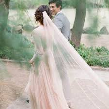 table d veil avec si e light pearl pink wedding veil cathedral length bridal veil with gold