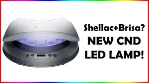 new cnd led l brisa shellac youtube