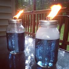 Mason Jar Tiki Torches | For The Home | Pinterest | Tiki Torches ... Outdoor Backyard Torches Tiki Torch Stand Lowes Propane Luau Tabletop Party Lights Walmartcom Lighting Alternatives For Your Next Spy Ideas Martha Stewart Amazoncom Tiki 1108471 Renaissance Patio Landscape With Stands View In Gallery Inspiring Metal Wedgelog Design Decorations Decor Decorating Tropical Tiki Torches Your Garden Backyard Yard Great Wine Bottle Easy Diy Video Itructions Bottle Urban Metal Torch In Bronze