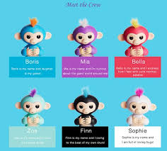 Fingerlings Interactive Baby Monkeys