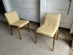Set Of 2 Quirky Czechoslovakian Small Dining Chairs, Vintage Mid-Century  Seating | In Finsbury Park, London | Gumtree