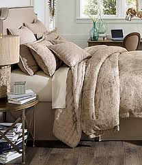 Woolrich Bedding Discontinued by Noble Excellence Villa Signature Taupe Paisley Linen Bedding
