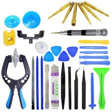 30 in 1 Screen Opening Plier Repair Tools Kit Screwdriver Pry