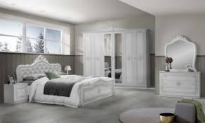 luiza bett 180 x 200 cm weiß hochglanz silber