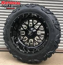 100 Custom Truck Wheels 4x4 22X12 Fuel OffRoad Stroke Mounted Up To A 37X1350R22 Nitto Mud