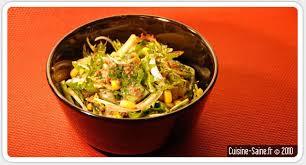 recette de cuisine saine recette bio salade de pissenlit aux sardines cuisine
