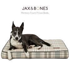 jax bones memory foam dog bed medium om neo shop