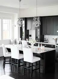 White Black Kitchen Design Ideas by 13 Amazing Kitchens With Black Appliances Include How To Decorate