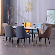 1000 nordic luxus esszimmer stuhl familie moderne einfache esstisch esszimmer stuhl hotel restaurant diskussion leder stuhl zurück