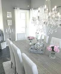 Grey Dining Room Table White Furniture Nice Best