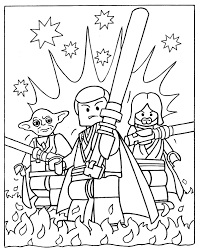 Star Wars Coloring Pages Free Printable For Kids Drawing