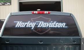 100 Rear Window Graphics For Trucks Harley Davidson Decals Inspirational Harley Davidson