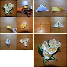 How To Make Unusual Flower Brooch Step By DIY Tutorial Picture Instructions