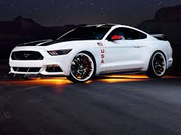 EAA Ford Mustang blasts off to honor Apollo moon missions