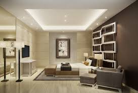 Minimalist Bedroom With TV And Wall Mirror Download 3D House